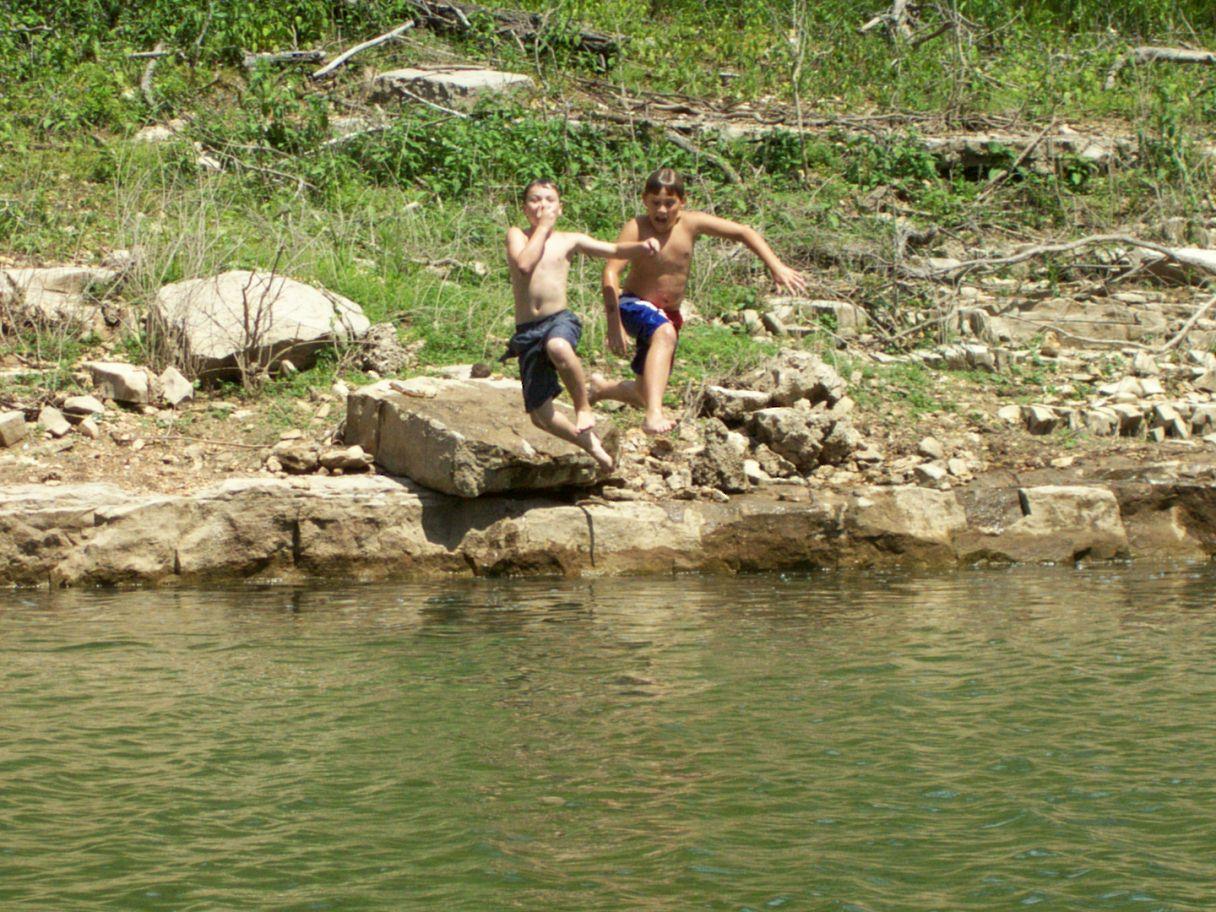 Summer fun in the Cove.